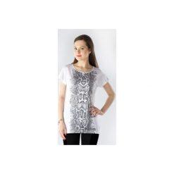 Bluzki damskie: bluzka damska klasyczna z printem
