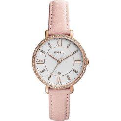 Fossil - Zegarek ES4303. Różowe zegarki damskie marki Fossil, szklane. Za 699,90 zł.