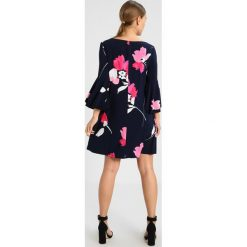 Sukienki hiszpanki: Lauren Ralph Lauren Petite TYCENDA 3/4 SLEEVE DAY DRESS Sukienka z dżerseju navy/riviera rose