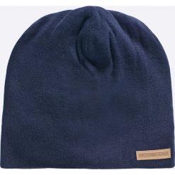 Trussardi Jeans - Czapka. Niebieskie czapki zimowe męskie Trussardi Jeans, z dzianiny. W wyprzedaży za 139,90 zł.