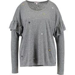Bluzki asymetryczne: Sundry RUFFLE STARS Bluzka z długim rękawem grey