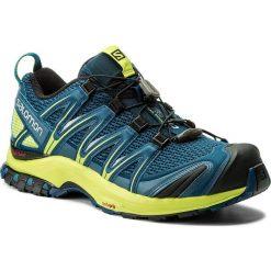 Buty sportowe męskie: Buty SALOMON – Xa Pro 3D 400798 27 V0 Poseidon/Lime Green/Black