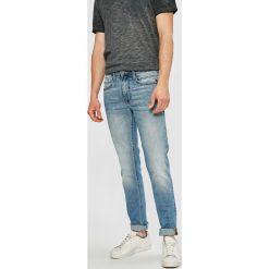 Blend - Jeansy Twister. Brązowe jeansy męskie slim marki Blend, l, z bawełny, bez kaptura. W wyprzedaży za 99,90 zł.