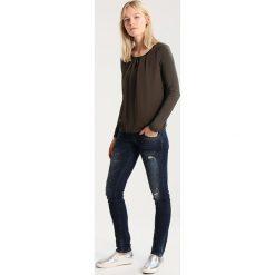 LTB MOLLY Jeansy Slim Fit darkblue denim. Niebieskie jeansy damskie marki LTB. W wyprzedaży za 271,20 zł.