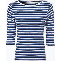 Brookshire - Koszulka damska, niebieski. Czarne t-shirty damskie marki brookshire, m, w paski, z dżerseju. Za 89,95 zł.