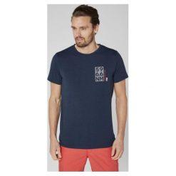 Helly Hansen T – Shirt Męski Hp Shore T-Shirt Navy Melange L. Niebieskie t-shirty męskie Helly Hansen, na lato, l. Za 165,00 zł.