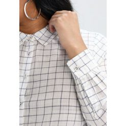 Koszule wiązane damskie: Zizzi ZIRIS Koszula vanilla ice combo