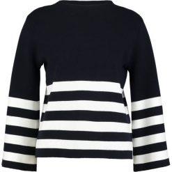 Swetry klasyczne damskie: Betty & Co Sweter dark blue/cream