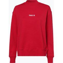 BOSS Casual - Damska bluza nierozpinana – Tastand, czerwony. Czerwone bluzy z nadrukiem damskie BOSS Casual, l. Za 429,95 zł.