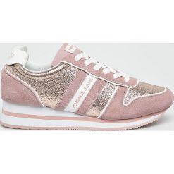 Versace Jeans - Buty. Szare buty sportowe damskie Versace Jeans, z jeansu. W wyprzedaży za 395,91 zł.