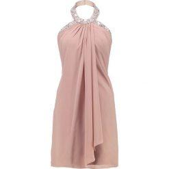 Luxuar Fashion Sukienka koktajlowa mauve. Fioletowe sukienki koktajlowe marki Luxuar Fashion, z materiału. Za 839,00 zł.
