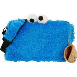 Torby na ramię męskie: Ulica Sezamkowa Cookie Monster Torba na ramię niebieski