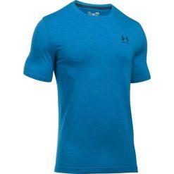 Under Armour Koszulka męska Sportstyle Left Chest Logo niebieska r. XS (1257616-779). Szare koszulki sportowe męskie marki Under Armour, z elastanu, sportowe. Za 71,99 zł.