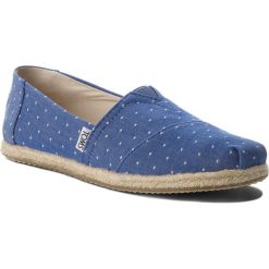 Tomsy damskie: Espadryle TOMS – Classic 10011643 Imperial Blue Dot