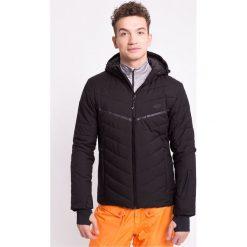 Kurtka narciarska męska KUMN152Z - czarny - 4F. Czarne kurtki męskie pikowane 4f, na jesień, l, z materiału, z kapturem. Za 369,99 zł.