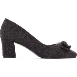 Buty ślubne damskie: Czółenka bawełniane