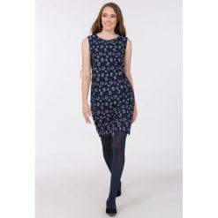 Tuniki damskie eleganckie: Elegancka tunika z wzorem