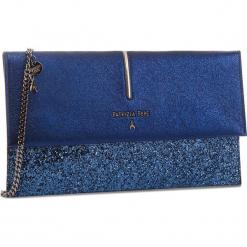 Torebka PATRIZIA PEPE - 2V5460/A2HE-F1TB  Blue Glitter. Czarne torebki klasyczne damskie marki Patrizia Pepe, ze skóry. W wyprzedaży za 619,00 zł.