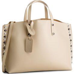 Torebka CREOLE - K10497  Beż. Brązowe torebki klasyczne damskie Creole, ze skóry, duże. W wyprzedaży za 239,00 zł.