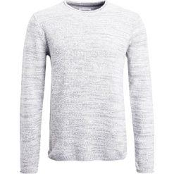 Swetry klasyczne męskie: Lindbergh ONECK SPECIAL PATTERN  Sweter grey mix