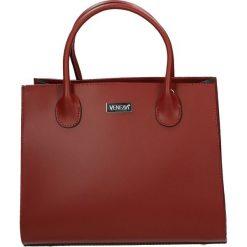 Torba - 4-219-O R-B-R. Szare torebki klasyczne damskie marki Venezia, ze skóry. Za 389,00 zł.