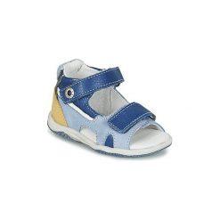 Sandały Dziecko  Babybotte  TINTIN. Niebieskie sandały chłopięce marki Babybotte. Za 239,20 zł.