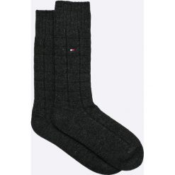 Tommy Hilfiger - Skarpety. Czarne skarpetki męskie marki TOMMY HILFIGER, z bawełny. W wyprzedaży za 39,90 zł.
