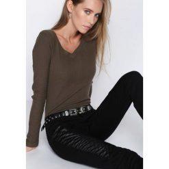 Czarne Spodnie You'll See. Czarne rurki damskie marki Born2be, l. Za 34,99 zł.