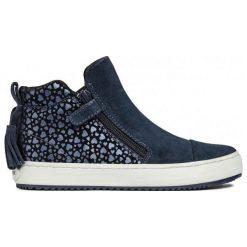 Geox Tenisówki Dziewczęce Kalispera 31 Niebieski. Niebieskie buty sportowe dziewczęce Geox, z gumy, na zamek. Za 299,00 zł.