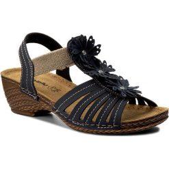 Rzymianki damskie: Sandały INBLU – TR19AQ21 Granatowy