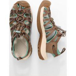 Keen WHISPER Sandały trekkingowe shitake/malachite. Brązowe buty trekkingowe damskie Keen. Za 369,00 zł.
