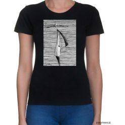 T-shirty damskie: Prążki - t-shirt - różne kolory