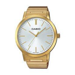 Zegarek Casio Damski LTP-E118G-7AEF Retro Classic Mid Size złoty. Żółte zegarki damskie CASIO, złote. Za 329,00 zł.