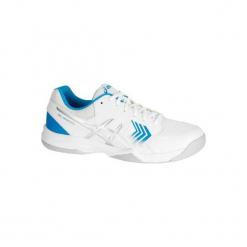 Buty Tenis Gel Dedicate Męskie. Białe buty do tenisa męskie marki Asics, z meshu. W wyprzedaży za 169,99 zł.