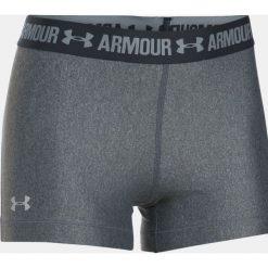 Odzież sportowa męska: Under Armour Spodenki damskie HeatGear Armour Shorty szaro-czarne r. S (1297899-090)