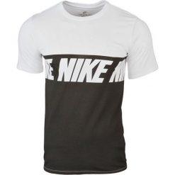 Nike Repeat Logo T-Shirt 856475-100. Białe t-shirty męskie marki Nike, m, z bawełny. W wyprzedaży za 79,99 zł.