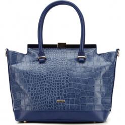 Torebka damska 87-4Y-764-7. Niebieskie torebki klasyczne damskie marki Wittchen, w paski. Za 299,00 zł.