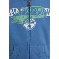 Napapijri BIDO  Bluza rozpinana light blue. Niebieskie bluzy dziewczęce rozpinane marki Napapijri, z bawełny. Za 359,00 zł.