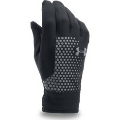 Rękawiczki męskie: Under Armour Rękawiczki męskie Threadborne Run Glove czarne r. L (1298515)