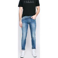 Pepe Jeans - Jeansy Cane. Niebieskie jeansy męskie regular Pepe Jeans. W wyprzedaży za 299,90 zł.