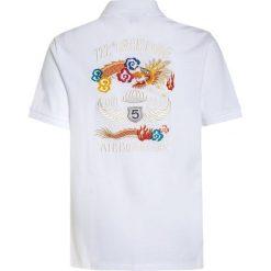 Bluzki dziewczęce bawełniane: Polo Ralph Lauren NOVEL Koszulka polo white