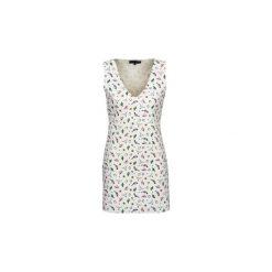 Sukienki krótkie American Retro  CAROLYN. Białe sukienki mini American Retro, retro, z krótkim rękawem. Za 711,20 zł.