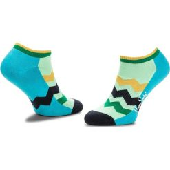 Skarpety Niskie Unisex HAPPY SOCKS - ATZST05-4000 Niebieski Zielony. Niebieskie skarpetki męskie Happy Socks, z bawełny. Za 39,90 zł.