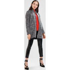 Płaszcze damskie pastelowe: JDY JDYBLAST COAT Krótki płaszcz black melange