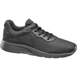 Buty męskie Nike Tajnun Se NIKE czarne. Czarne buty sportowe męskie marki Nike, z materiału, nike tanjun. Za 279,90 zł.