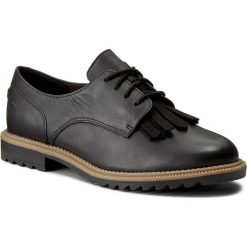 Creepersy damskie: Oxfordy CLARKS - Griffin Mabel 261010994 Black Leather