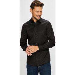 Only & Sons - Koszula. Szare koszule męskie na spinki Only & Sons, l, z bawełny, z włoskim kołnierzykiem, z długim rękawem. W wyprzedaży za 119,90 zł.