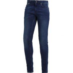 Topman COLE SPRAY ON Jeans Skinny Fit blue. Niebieskie jeansy męskie Topman. Za 229,00 zł.