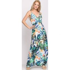 Sukienki: Biało-Zielona Sukienka Apocalyptic