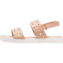 Next EFFECT STUD OLDER GIRLS Sandały nude. Szare sandały chłopięce marki Next, z materiału. Za 159,00 zł.